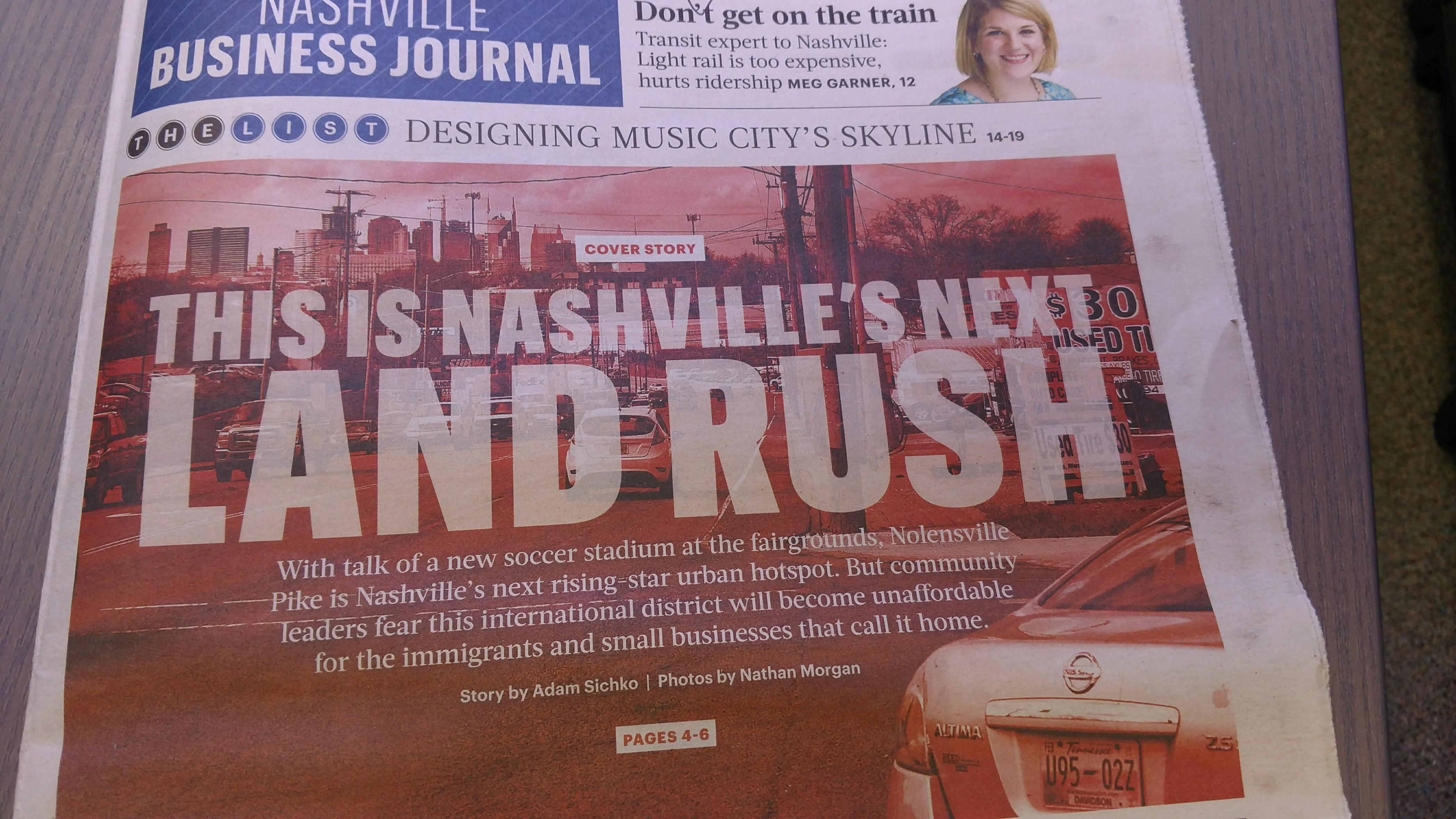 Nolensville Pike new Nashville urban hot spot
